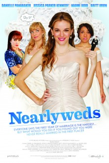 Nearlyweds Poster Layered Simple